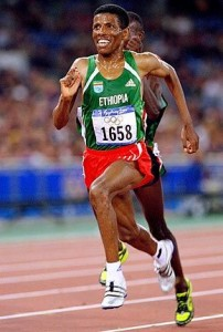 Ethiopia's No 1 runner Halle Gebreselassie is expected in Accra