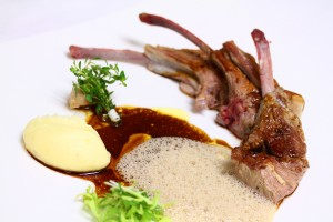 French Lozere lamb rack