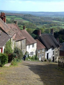 Gold Hill Shaftsbury -  Dorset pic