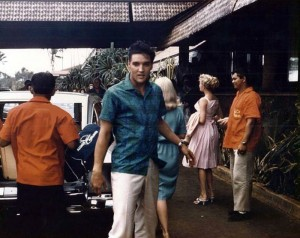 Hawaii Kauai Coco Palms Elvis checks in.paramount pictures