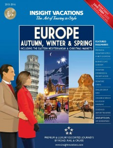 Insight Vacations 2015-16 Autumn, Winter & Spring Europe Cover