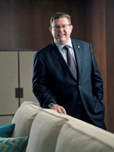 Mr. Paul Cunningham, General Manager, The St. Regis Macao Hotel, Cotai Central