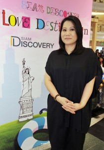 Mrs. Siriphen Intuputi, senior executive for Marketing and Public Relations, Siam Piwat Co., Ltd