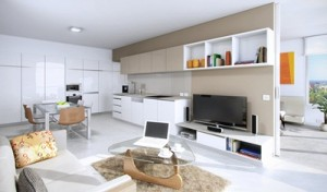Oaks Carlyle interior render