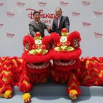 Eye Dotting Ceremony of Lion Dance (PRNewsFoto/Disney)