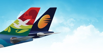 Air Seychelles Jet Airways Codeshare Photo