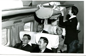 An example of a Skycot used on BOAC (predecessor to British Airways) flights in the1950 (300dpi)