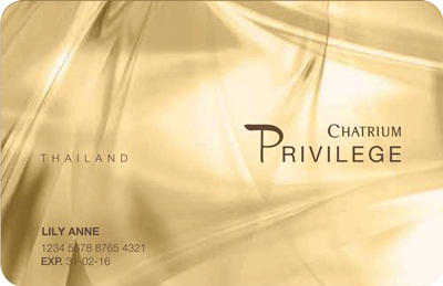 CHATRIUM HOTELS & RESIDENCES LAUNCHES _PRIVILEGE CARD-THAILAND_