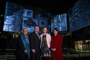 Vivid Sydney 2015, Media Preview at Chatswood. 19/5/2015. Photo Credit - James Horan/Destination NSW