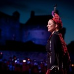 Edinburgh Military Tattoo  girl
