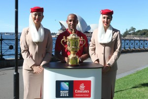 Emirates-Ambassador-George-Gregan-with-the-Webb-Ellis-Cup-for-Rugby-World-Cup-2015-Emirates-Trophy-Visit (1)