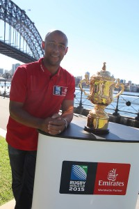 Emirates-Ambassador-George-Gregan-with-the-Webb-Ellis-Cup-for-Rugby-World-Cup-2015-Emirates-Trophy-Visit