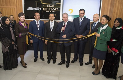 Etihad - Alitalia Expo Pavilion Opening - PHOTO 1