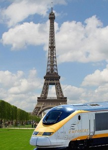 Eurostar in Paris