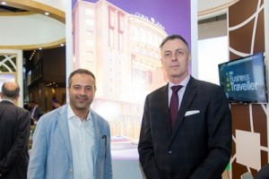 Laurent A. Voivenel, CEO of HMH with Mohammed Al Nadi - Owner's Representative from Coral Al Madina Hotel