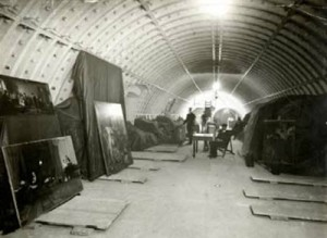 London Mail Rail tunnels used to store treasures in WWI.rsz. BPMA