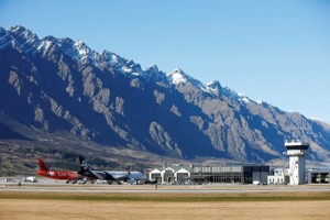 Queenstown Airport, August, 2014. Photo by Michael Thomas