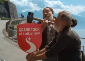Signposting the Grand Tour of Switzerland
