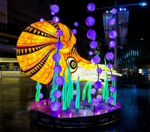 Vivid Sydney 2015, Media Preview at Chatswood.