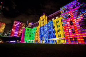 Vivid Sydney 2015, Media Preview at the MCA. 21/5/2015.Photo Credit - James Horan/Destination NSW