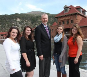 Glenwood Hot Springs scholarship winners 2015