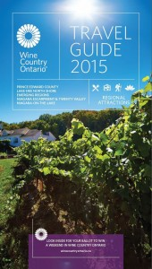 WINE COUNTRY ONTARIO - 2015 Wine Country Ontario Travel Guide