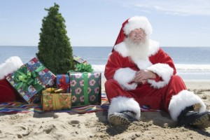 Celebrate Christmas in July in the seaside town of Morro Bay. (PRNewsFoto/Morro Bay Tourism Bureau)