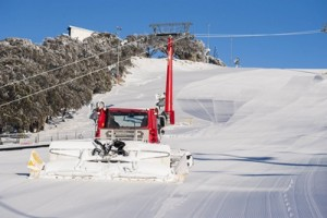 Bourke Street being groomed ahead of Opening Weekend_Mt Buller Andrew Ra...