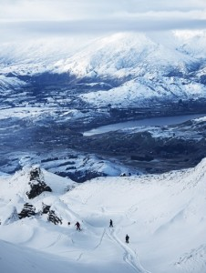 Breath-taking views and conditions to match at Coronet Peak