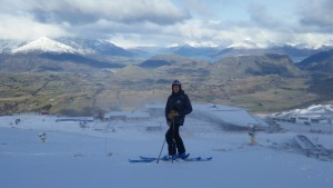 Coronet Peak Ski Area manager Ross Copland a happy man ahead of Saturday's opening