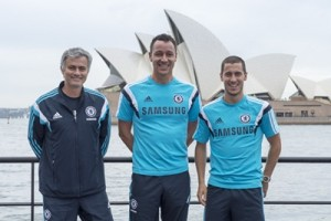 Chelsea FC in Sydney 2015