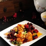 Kungpao style Australian scallop with cashew nuts