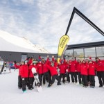 Ski and snowboard instructors at The Remarkables raring to go on opening day