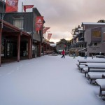 Thredbo winter snowfall
