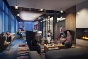 Marriott International Inc Moxy Hotels Livingroom