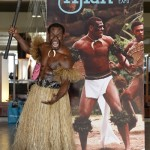 A Fijian Warrior at FTE 2014. PHOTO by Tourism Fiji.