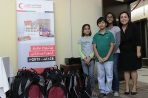 Bags for UAE Red Crescent (1)