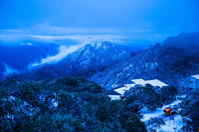 Beautiful view from Mt Buller taken early in the morning following fresh snow falls overnight_(c) Mt Buller_Andrew Railton