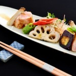 Grilled tuna belly with spicy garlic sauce_Mid-Summer Promotion_Yamazato...