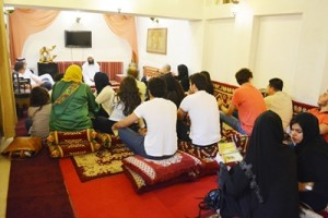 Islamic Discussion at Barjeel Guest House