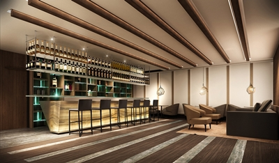 Toshi Restaurant - Bar lounge