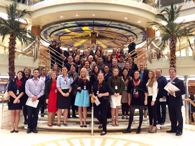 Travel Agents Experience the Newly Refurbished Dawn Princess in Brisbane