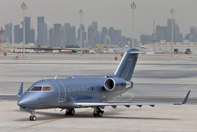Vertis Aviation adds Doha, Qatar-based Challenger 604 exterior