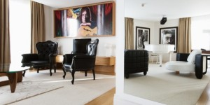 John Legend Suite at Hard Days Night Hotel in Liverpool, a newly acquired property by Millennium Hotels and Resorts. (PRNewsFoto/Millennium Hotels and Resorts)