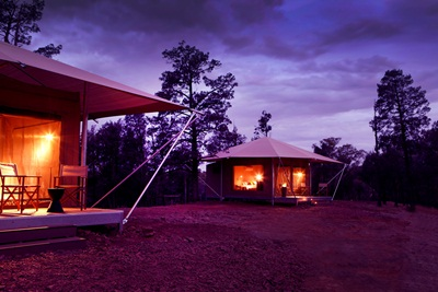 Ikara Safari Camp evening