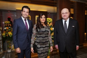 Mr. Ahmed Sabra- Project Manager at RTS Investments, Ms. Amira El Serafy-Marketing and Communications Director, Mr. Peter Mansourian-General Manager