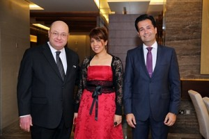 Mr. Peter Mansourian-General Manager, Ms. Irene Cruz- Personnel Assistant, Mr. Ahmed Sabra- Project Manager at RTS Investments