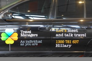New vehicle signage from TravelManagers