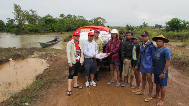 Relief effort in Myanmar