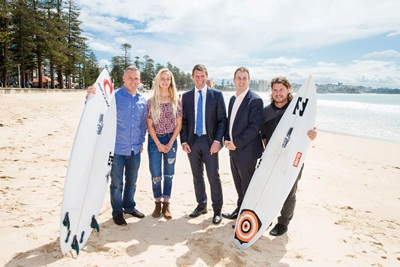 Australian Open of Surfing Announcement Image